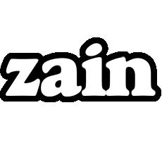 Zain panda logo