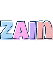Zain pastel logo