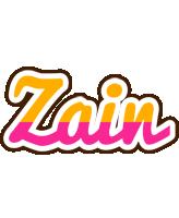 Zain smoothie logo