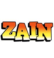 Zain sunset logo