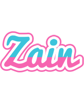 Zain woman logo