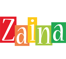 Zaina colors logo