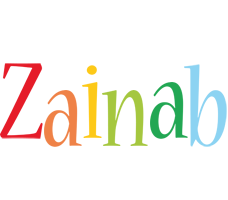 Zainab birthday logo