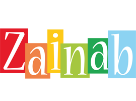 Zainab colors logo