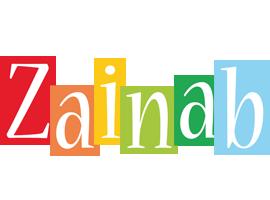 Zainab colors logo