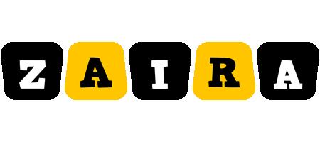 Zaira boots logo