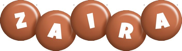 Zaira candy-brown logo