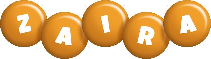 Zaira candy-orange logo
