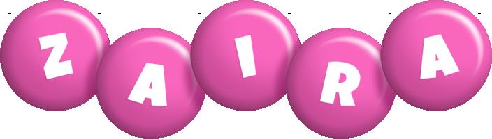 Zaira candy-pink logo
