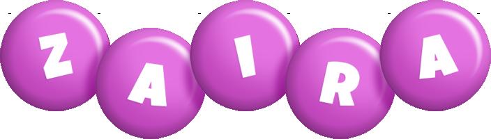 Zaira candy-purple logo