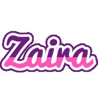 Zaira cheerful logo