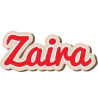 Zaira chocolate logo