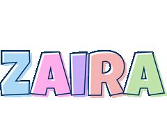 Zaira pastel logo