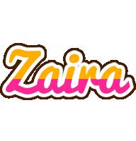 Zaira smoothie logo