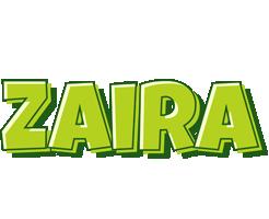 Zaira summer logo