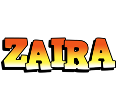 Zaira sunset logo