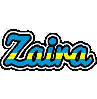 Zaira sweden logo