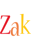 Zak birthday logo
