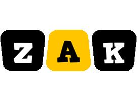 Zak boots logo
