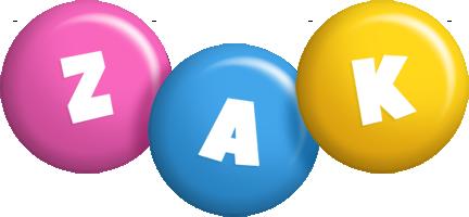 Zak candy logo