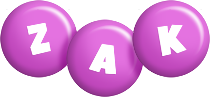 Zak candy-purple logo