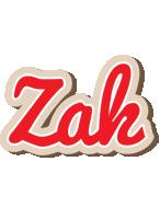 Zak chocolate logo