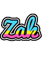 Zak circus logo