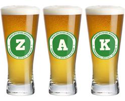 Zak lager logo