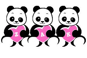 Zak love-panda logo