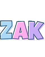 Zak pastel logo