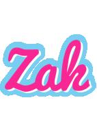 Zak popstar logo