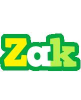 Zak soccer logo