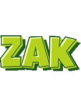 Zak summer logo