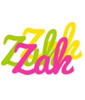 Zak sweets logo