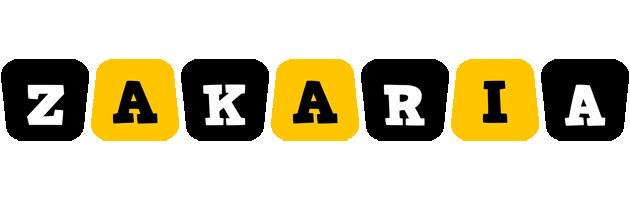 Zakaria boots logo