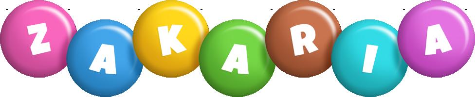 Zakaria candy logo