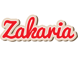 Zakaria chocolate logo