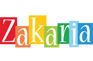 Zakaria colors logo