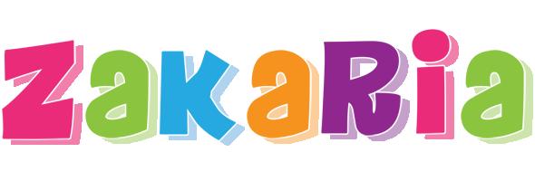 Zakaria friday logo