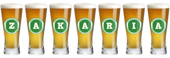 Zakaria lager logo