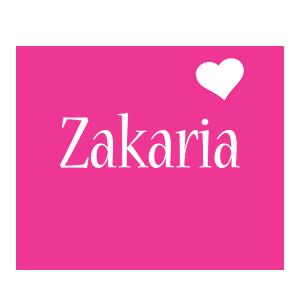 Zakaria love-heart logo