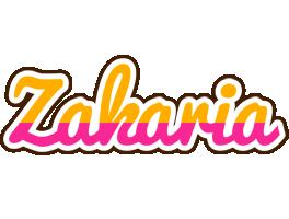 Zakaria smoothie logo