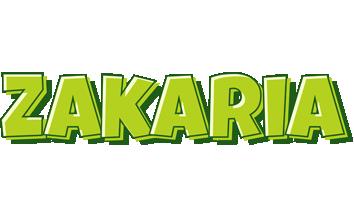 Zakaria summer logo