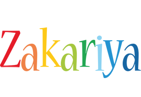 Zakariya birthday logo