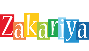 Zakariya colors logo