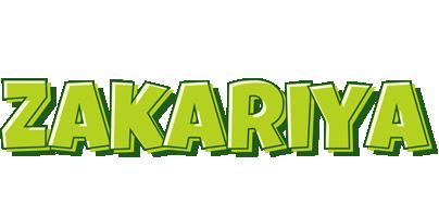 Zakariya summer logo
