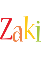 Zaki birthday logo