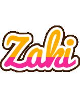 Zaki smoothie logo
