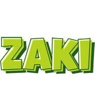 Zaki summer logo