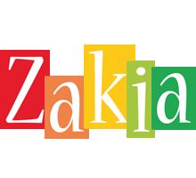 Zakia colors logo
